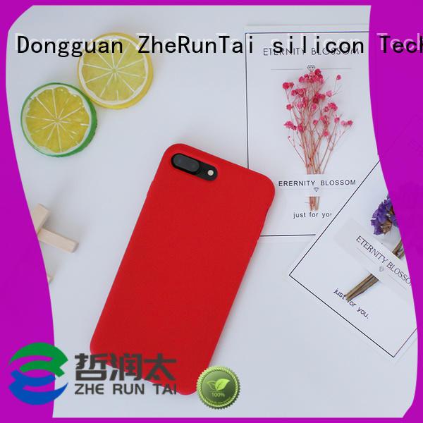 silicone silicone mobile phone case in-green ZheRunTai