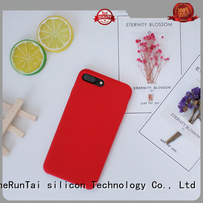 ZheRunTai price custom silicone phone case for sale for dirt-resistant