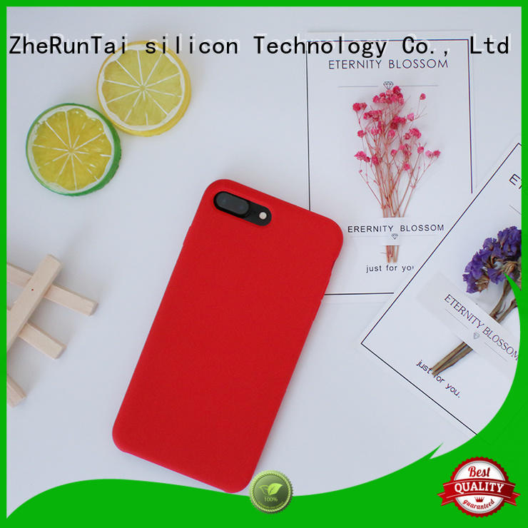 ZheRunTai Top silicone mobile phone case suppliers for dirt-resistant
