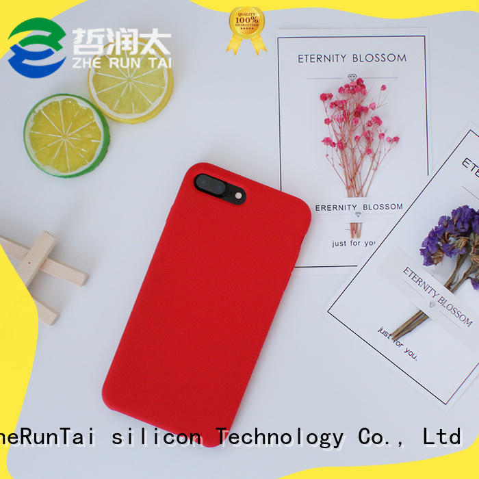 ZheRunTai phone silicone phone case company for dirt-resistant