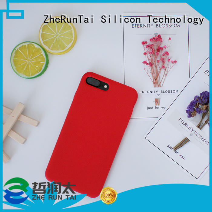 ZheRunTai Top silicone mobile cover factory for dirt-resistant
