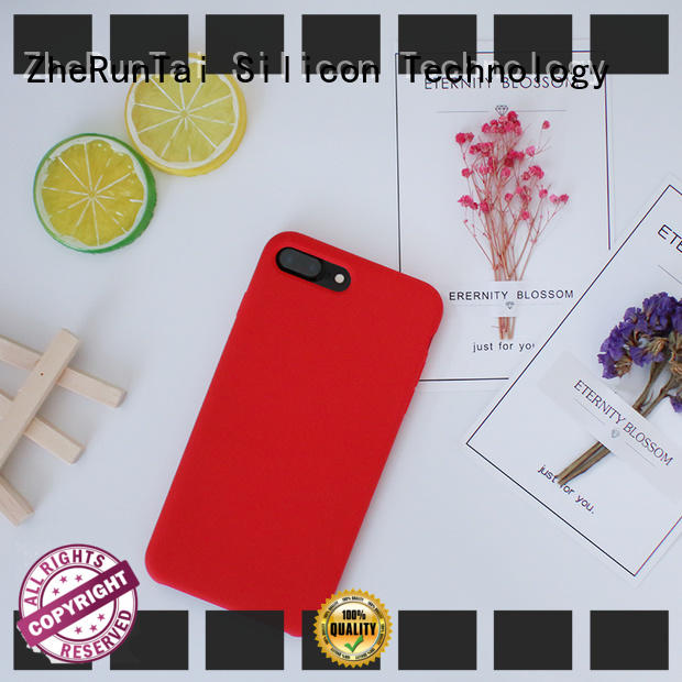 ZheRunTai Latest silicone mobile phone cases for business for decorative